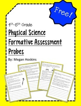 4th and 5th Grade Physical Science Formative Assessment Probes