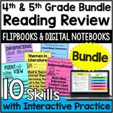 4th & 5th Grade Reading Activities | Flipbooks *Google Cla