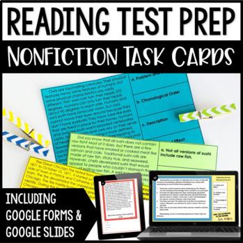 5th Grade Reading Test Prep Teaching Resources | Teachers Pay Teachers