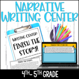 4th and 5th Grade Writing Center - Finish the Story *Google Classroom Included