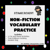 3rd- 5th STAAR READY! NON-FICTION CUT AND PASTE VOCABULARY