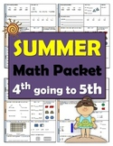 4th going to 5th Summer Math Packet