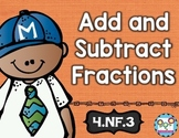 Add and Subtract Fractions 4th Grade