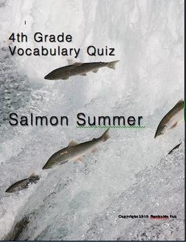 4th gr., Theme 6  - Nature: Friend or Foe Vocab Quizzes