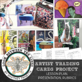 Artist Trading Cards: Mixed Media Mini Art Project for 4th