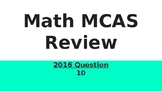 4th grade 2016 Math MCAS review Powerpoint