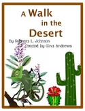 "4th grade Treasures Reading Unit 1 Week 2 ""A Walk in the Desert"""