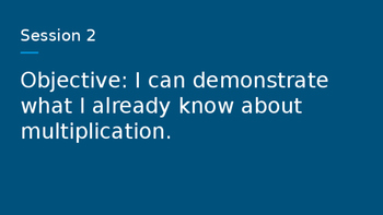 4th grade Bridges Unit 2 Modules 1-2 Objectives and Vocabulary