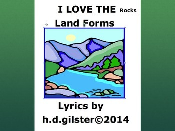 4th grade CCSS Standard: Rocks and Landforms