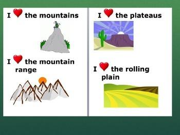 4th grade CCSS Standard: Rocks and Landforms