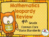 4/5 grade COMMON CORE MATHEMATICS Beg./End of Year Game Show Review
