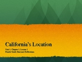 4th grade California Harcourt Reflections Chapter 1 Lesson 1 PPT