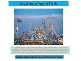 """4th grade Chapter 1 Math  task """" An Amusement Park"""""""