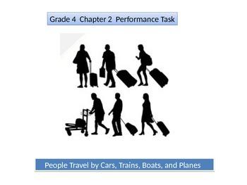4th grade  Chapter 2  Math Performance task