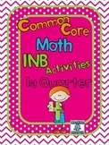 4th grade Common Core Interactive Notebook, Quarter 1
