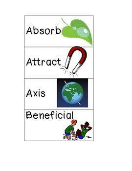 4th grade Common Core Science Words