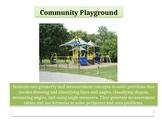 "4th grade Critical Area 3 Math Performance Task "" Community Playground"""