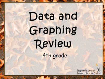 4th grade Data/Graphing ActivInspire review
