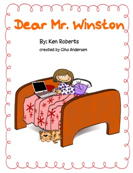 "4th grade Treasures Reading Unit 2 Week 5 ""Dear Mr. Winston"""