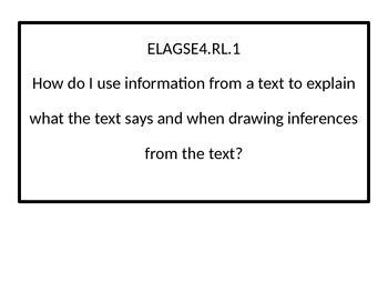 4th grade ELA Essential Questions