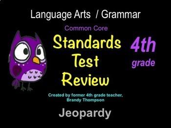 4th grade NO PREP Grammar Games & Comprehensive Practice