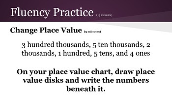 4th grade Engage NY Math Module 1 Topic C Lesson 7