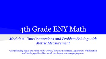 4th grade Engage NY Math Module 2 Topic A Lessons 1 - 3 Bundle