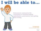 4th grade English Common Core Posters Fourth Grade Standards