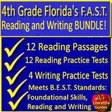 4th grade FSA Writing & FSA Reading Practice Tests SELF-GRADING GOOGLE FORMS!