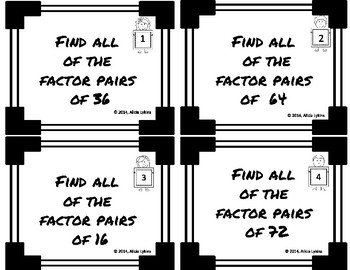 4th grade Factors and Multiples/Prime and Composite 4.OA.4