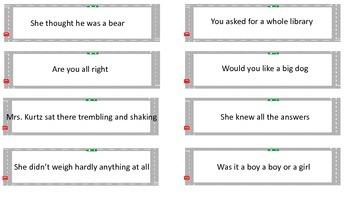 4th grade File Folder Interrogative and Declarative Sort