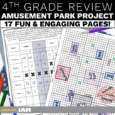 4th grade Geometry Project   Math Activity to Review 4th Grade Math Skills