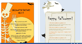 4th grade Halloween themed OA.2.4 and OA.3.5 mini assessments