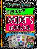 4th Grade Common Core Interactive Reading Notebook: Literature Standards Edition