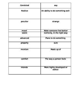 4th grade Journeys Curriculum Lesson 1 Because of Winn Dix