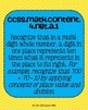 4th grade Math Common Core Standards Posters Numbers & Ope