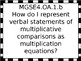 4th grade Math Essential Questions for GSE with Black and White Border