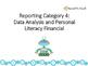 Analisis de Datos Comprension de finanzas personales Tarjetas Repaso 4 grado
