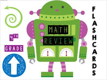 4th grade Math Flashcards_Category 1 English