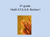 4th grade Math STAAR Review I