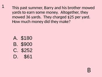 4th grade Math STAAR Review III