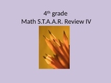 4th grade Math STAAR Review IV