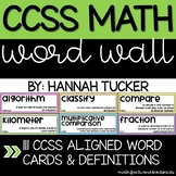 CCSS Math Word Wall