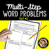 4th Grade Multi-Step Word Problems