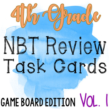 4th grade NBT Review Task Cards