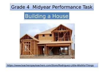 4th grade New Mid Year Performance task 2015 version