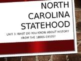 4th grade North Carolina Social Studies Unit 3