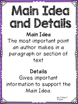4th grade Reading WonderWorks Supplement- Unit 2 Week 3