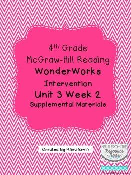 4th grade Reading WonderWorks Supplement- Unit 3 Week 2
