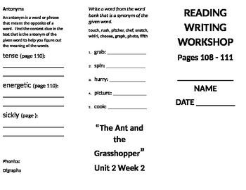 4th grade Reading Wonders Unit 2 week 2